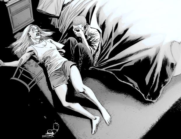 Rick Grimes Kills Andrea (The Walking Dead)