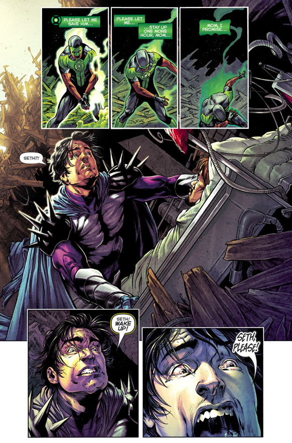 Simon Baz Tries To Heal Doctor Polaris' Brother