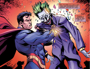 Superman Kills The Joker (Injustice Ground Zero)