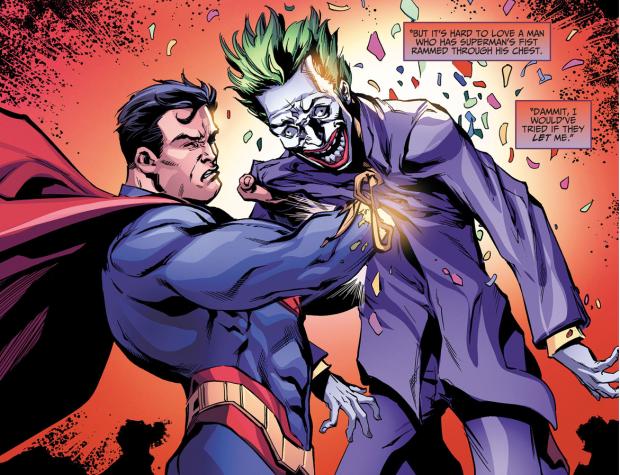 Superman Kills The Joker (Injustice Ground Zero)