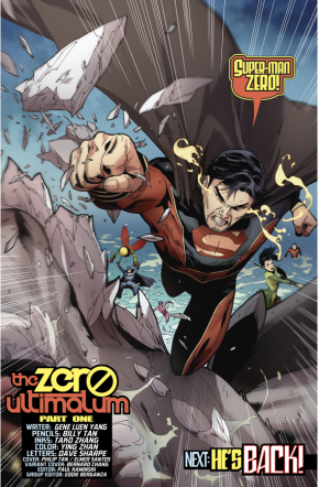 Superman Zero (New Super-Man #11)