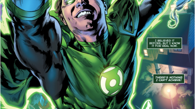 The Phantom Lantern As A Green Lantern (Green Lanterns #10)