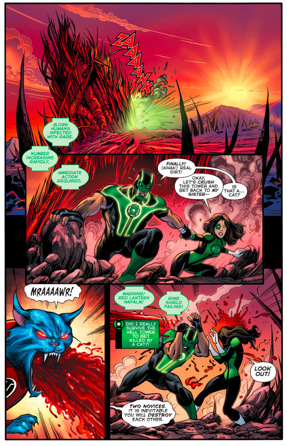 The Red Lantern Corps (Green Lanterns #4)