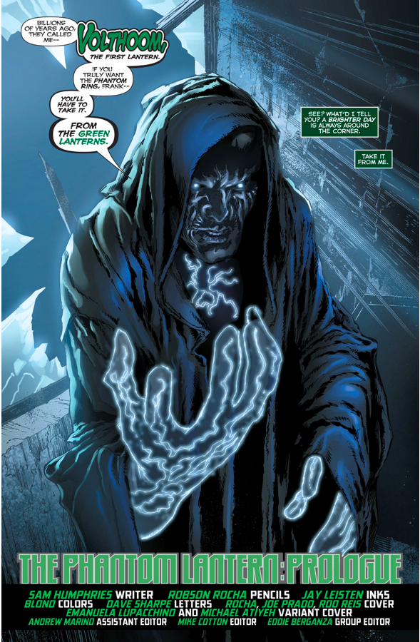 Volthoom (Green Lanterns #9)