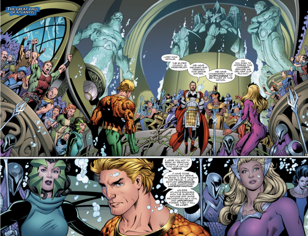 Aquaman Is Dethroned As King Of Atlantis (Rebirth)