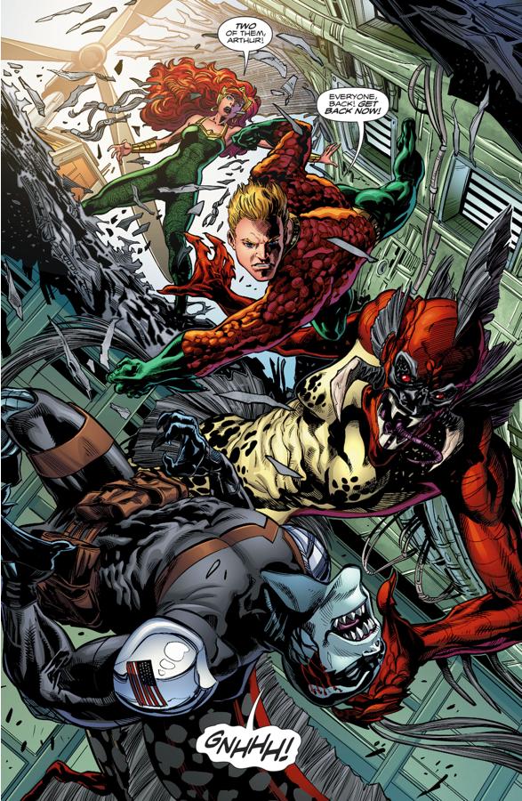 Aquaman, Mera And Dead Water (Rebirth)