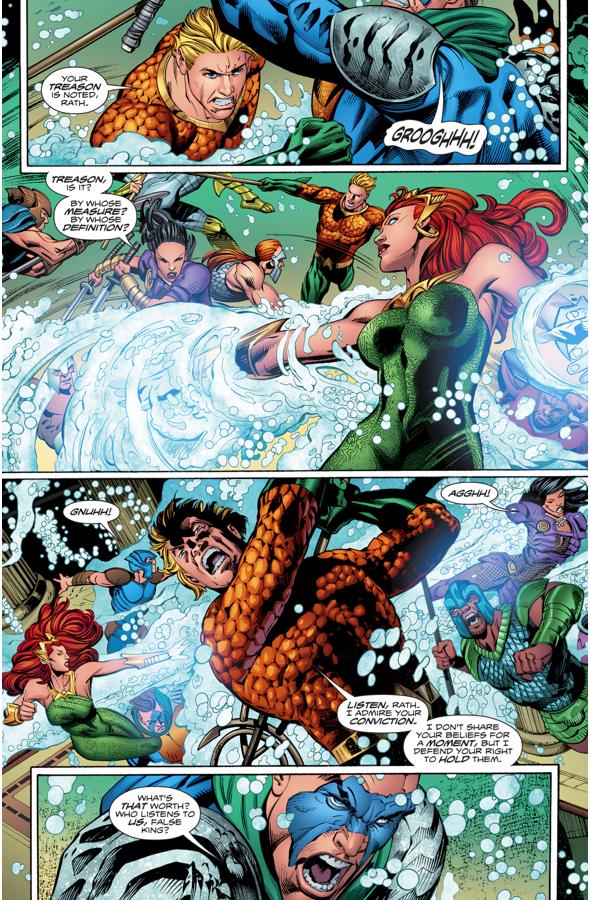 Aquaman VS Corum Rath