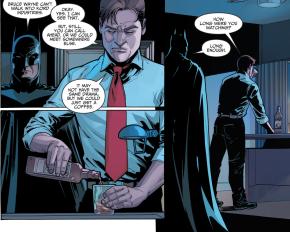 Batman Recruits Blue Beetle Ted Kord (Injustice II)