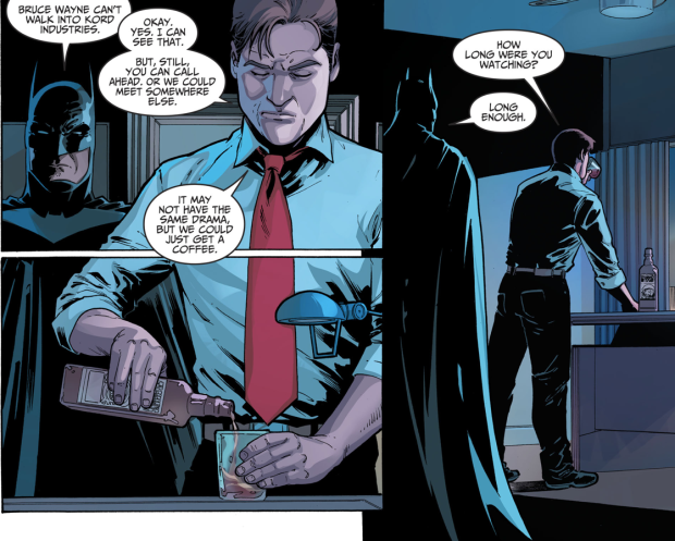 Batman Recruits Blue Beetle Ted Kord (Injustice II)