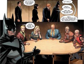 Batman's Secret Group (Injustice II)