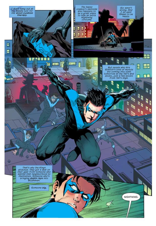 Blockbuster Ambushes Nightwing (Rebirth)