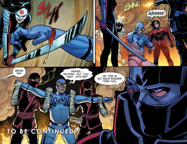 Blue Beetle VS Nightwing, Katana And Deadshot (Injustice II)