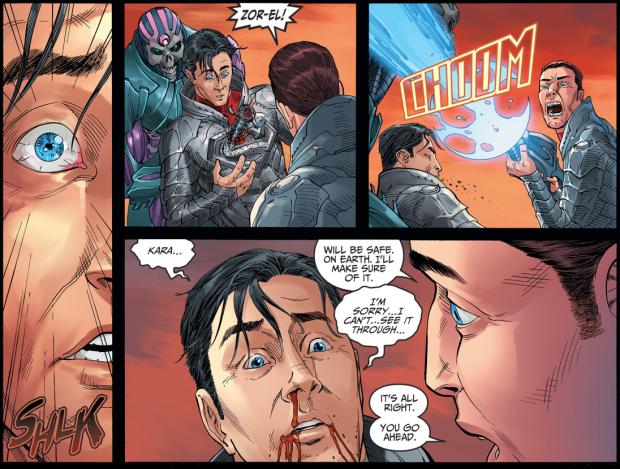 Brainiac Attacks Krypton (Injustice II)