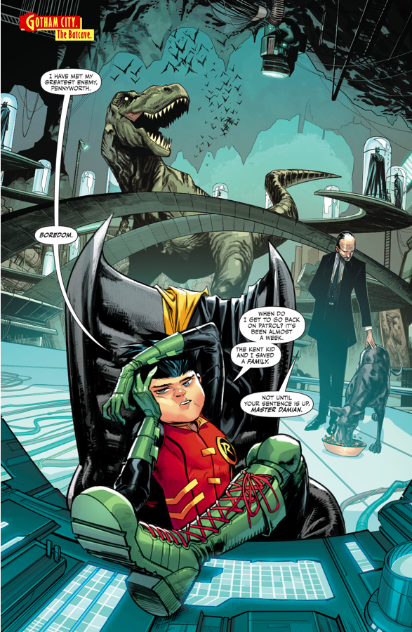Damian Wayne (Super Sons #4)