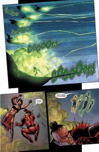 Green Lantern Corps And Sinestro Corps VS Bolphunga