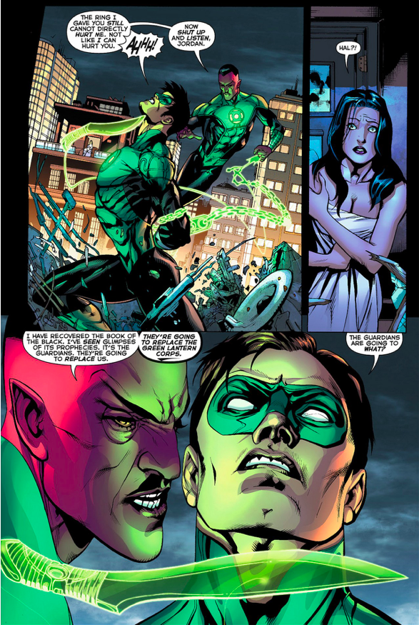 Hal Jordan VS Sinestro (Green Lantern Vol. 5 #7)