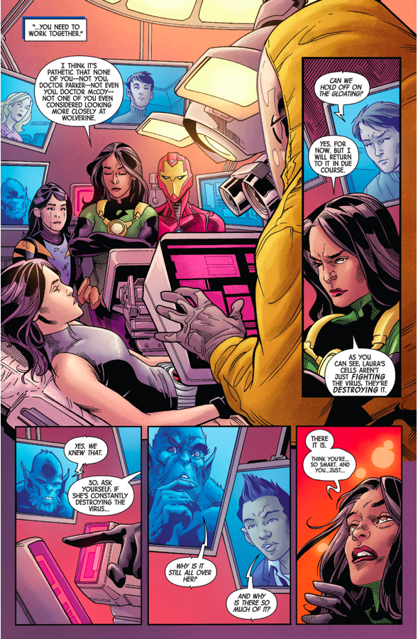 How All New Wolverine Cures The Laura Kinney Virus