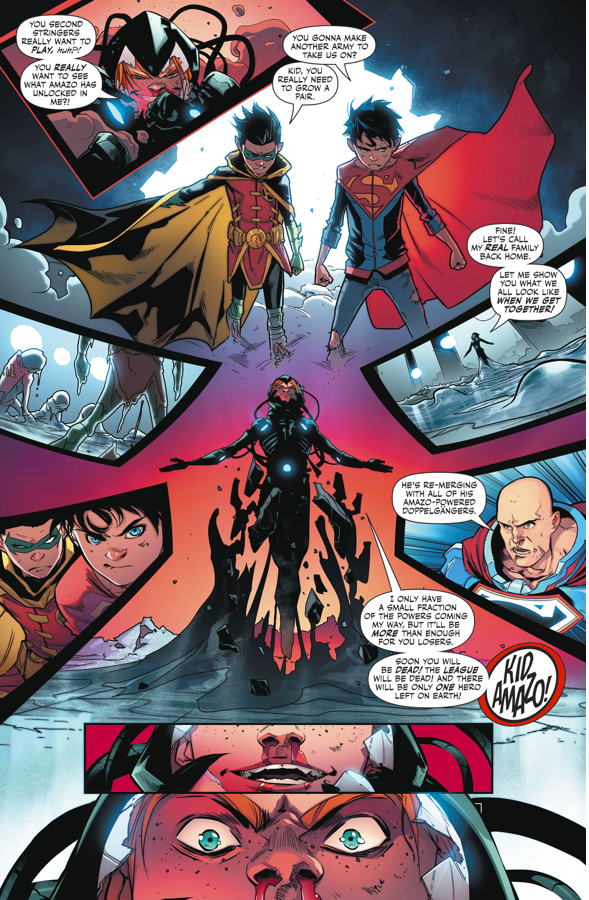 ... How Superboy And Robin Took Down Kid Amazo ...