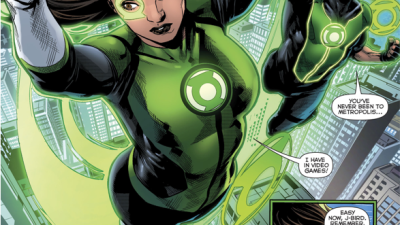 Jessica Cruz And Simon Baz (Green Lanterns #20)