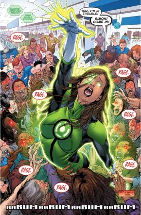 Jessica Cruz (Green Lanterns #1)