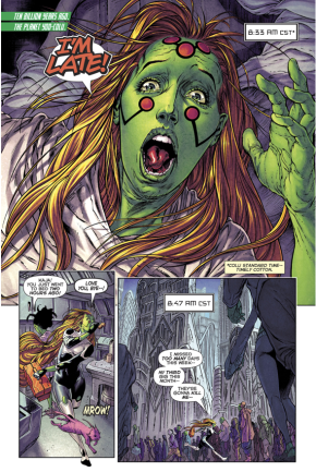 Kaja Dox Becomes A Green Lantern