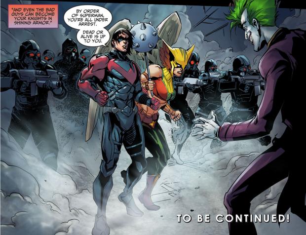 Nightwing And Hawkgirl (Injustice Ground Zero)