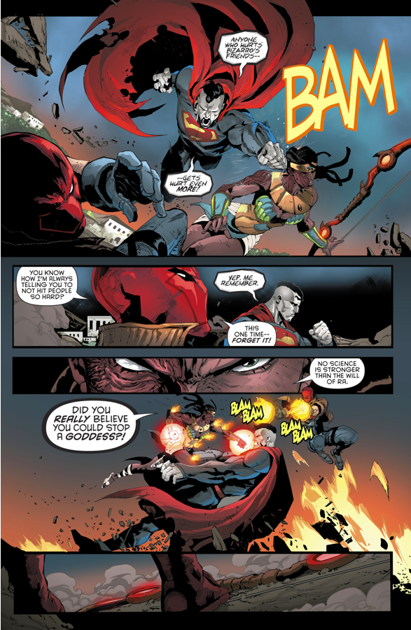 Red Hood And The Outlaws VS Akila