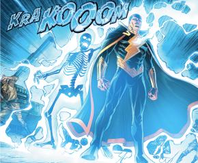 Black Adam Defending Kahndaq (Injustice II)