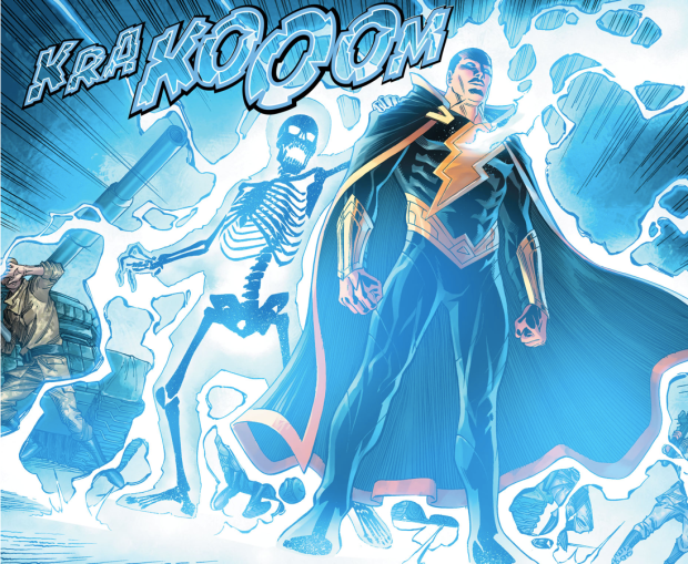 Black Adam Defending Kahndaq (Injustice II)