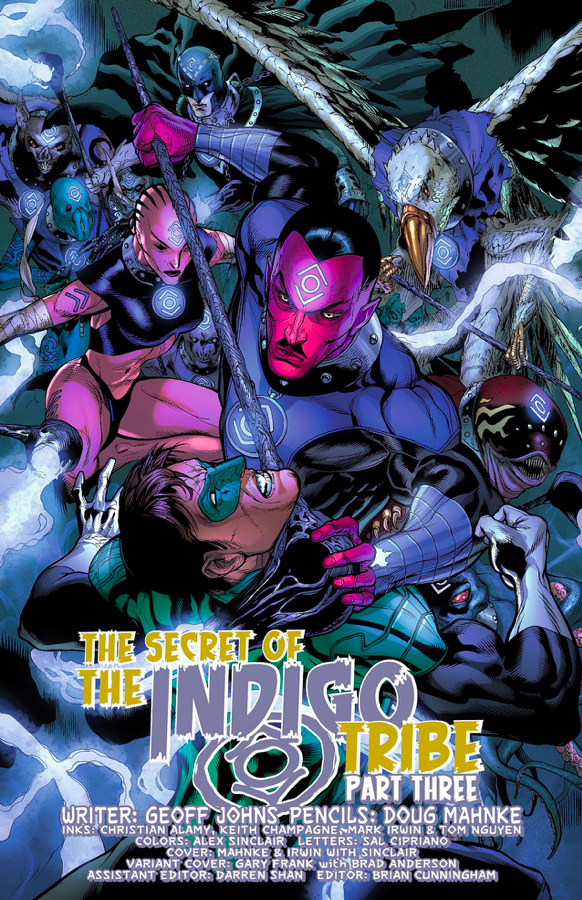 Sinestro Indigo Tribe (Green Lantern Vol. 5 #9)