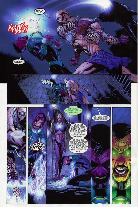 Sinestro Is Converted By The Indigo Tribe