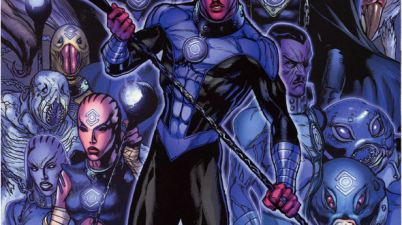 Sinestro Joins The Indigo Tribe