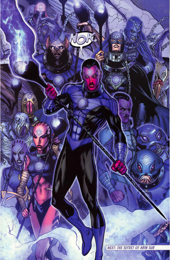 Sinestro Joins The Indigo Tribe