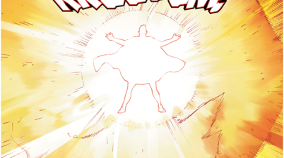 Superman Zero's Solar Flare Against Monk Fahai