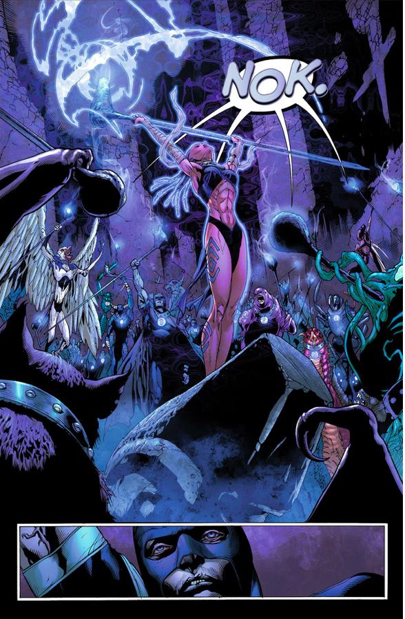 The Indigo Tribe (Green Lantern Vol. 5 #7)