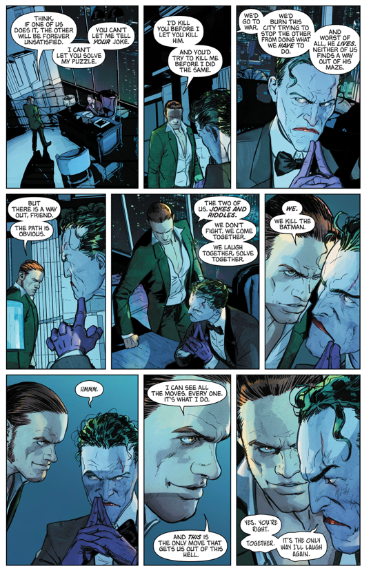The Riddler Tries To Partner With The Joker