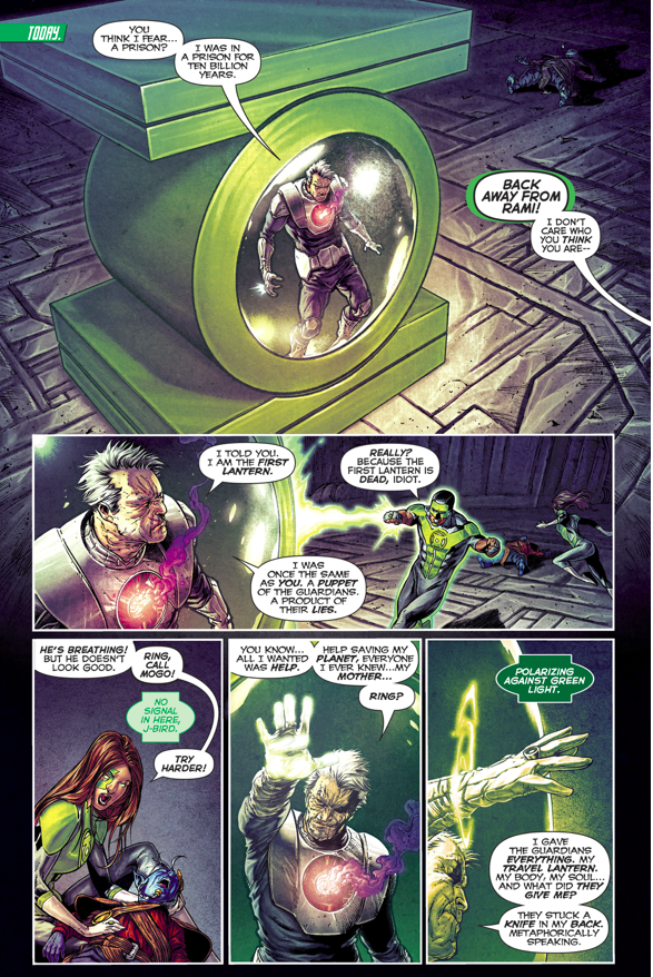 Volthoom Destroys Simon Baz S Green Lantern Ring