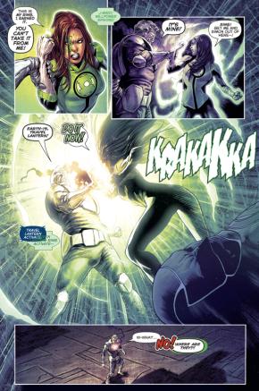 Volthoom Takes Control Of Jessica Cruz's Green Lantern Ring