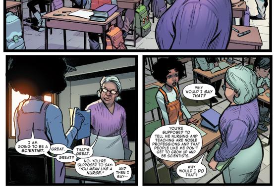 Why Riri Williams Wants To Be Tony Stark