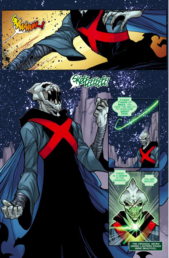 Z'kran Z'rann Becomes A Green Lantern