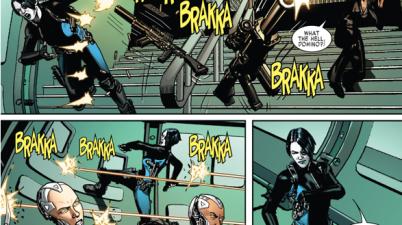 Adamantium Cyborgs With Domino's Luck
