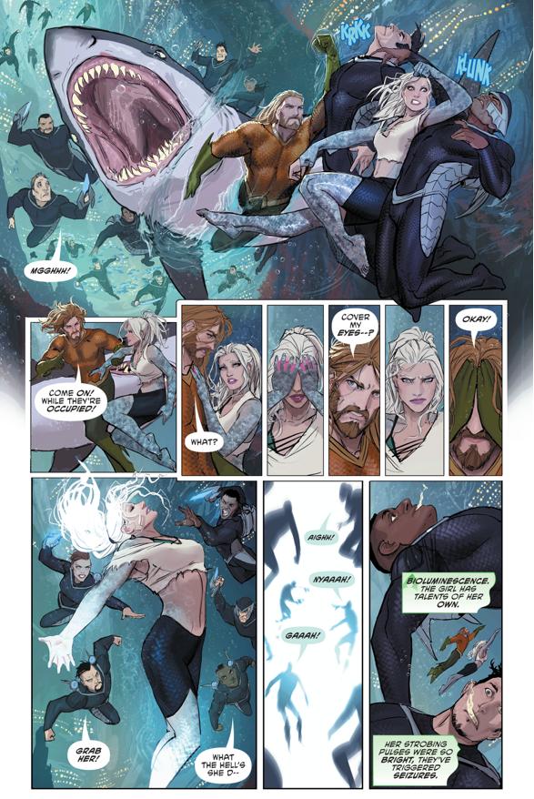 Aquaman And Dolphin VS The Drift