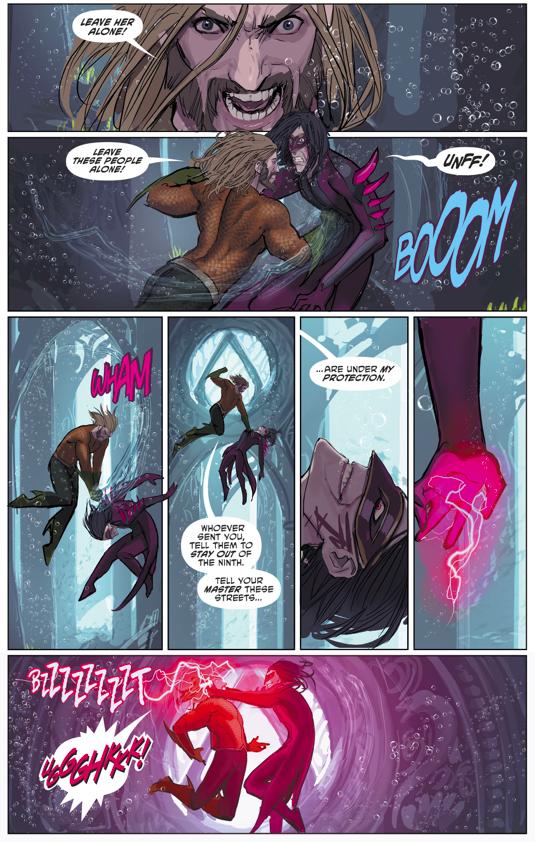 Aquaman VS Kadaver