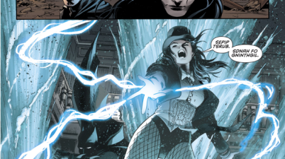 Azrael And Zatanna VS Ascalon