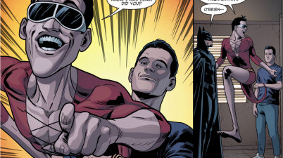 Batman Recruits Plastic Man (Injustice II)