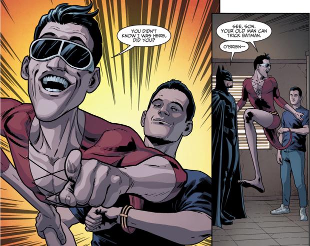 Batman Recruits Plastic Man (Injustice II)