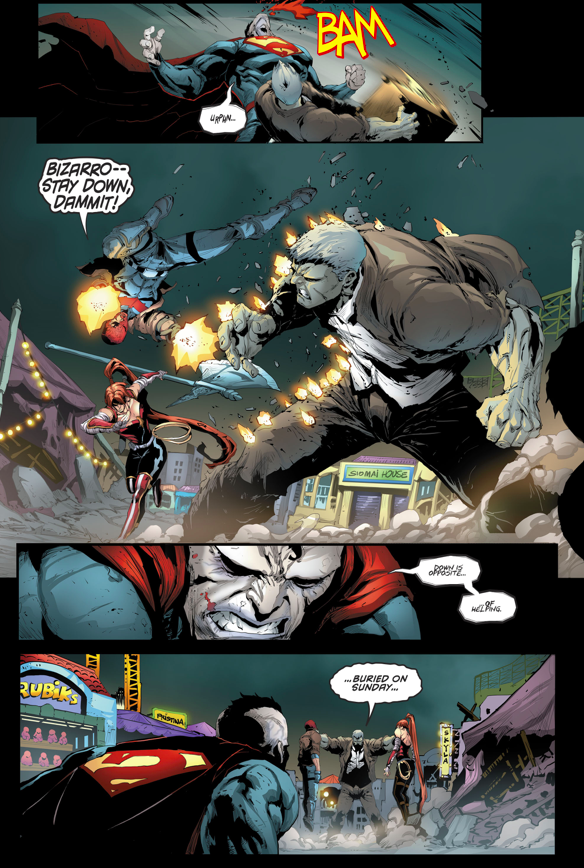 Bizarro VS Solomon Grundy (Rebirth)