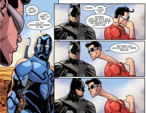 Blue Beetle Joins Batman's Team (Injustice II)