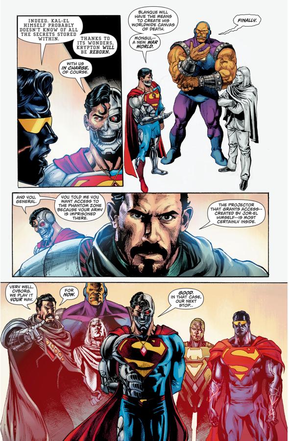Cyborg-Superman Forms The Superman Revenge Squad