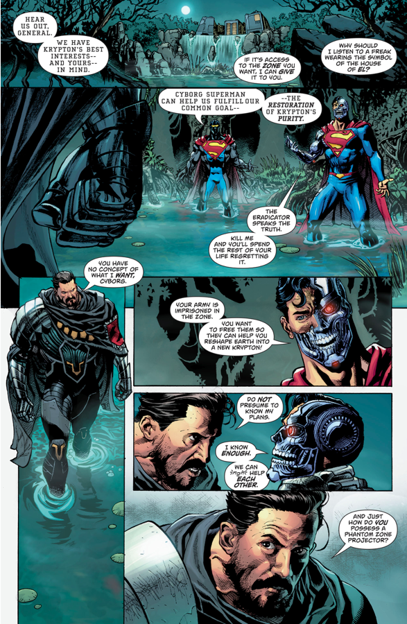 Cyborg-Superman Recruits General Zod